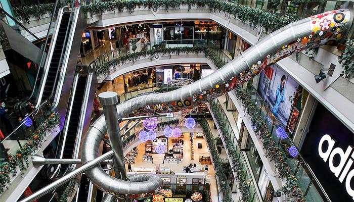 Pudong mall, Шанхай.jpg