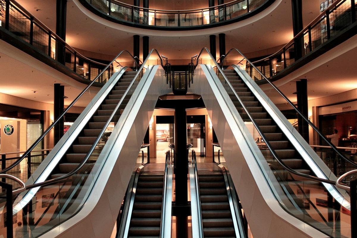 Торговый центр - pexels