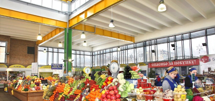 Кунцевский рынок в Москве