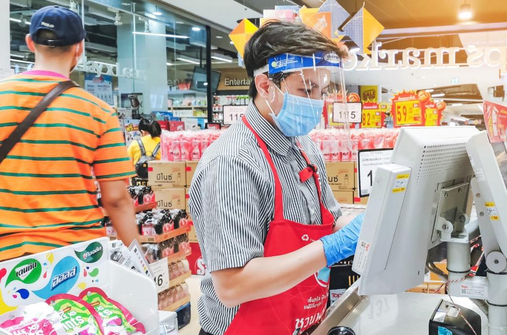 Depositphotos - супермаркет в эпоху ковид