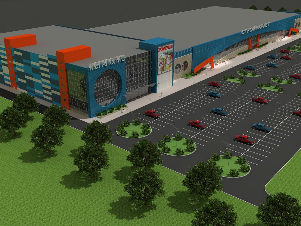 Проект ТРЦ «Мегаполис»