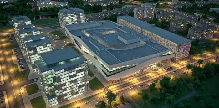 Рекордный объем ввода новых площадей был обеспечен открытием ТРЦ «Охта Молл»