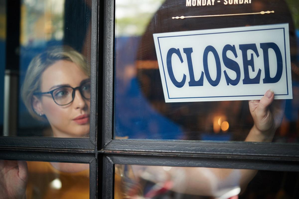 Закрытие ресторана - Depositphotos