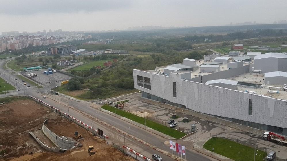 Строительство ТРЦ «Бутово Молл»