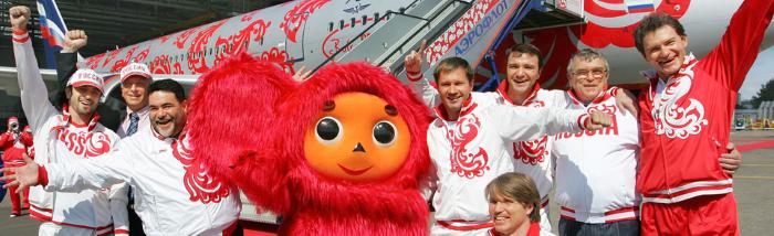 Члены Олимпийской сборной и М.Куснирович.png