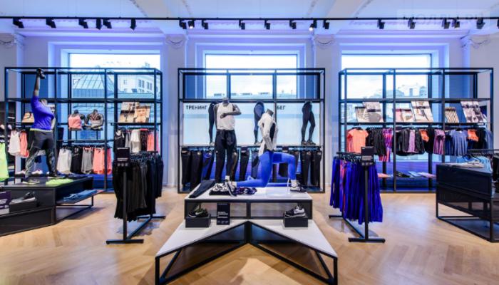 Флагманский магазин Nike открылся на Кузнецком мосту