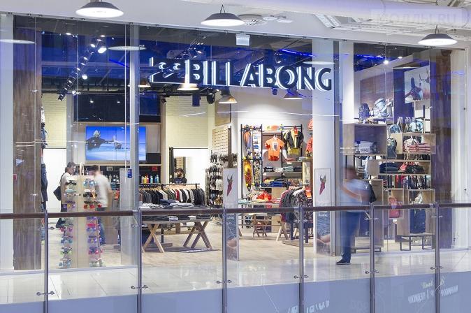 Billabong открывает первый магазин в России
