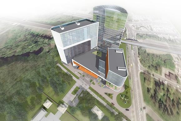 В Москве началось строительство российско-китайского центра