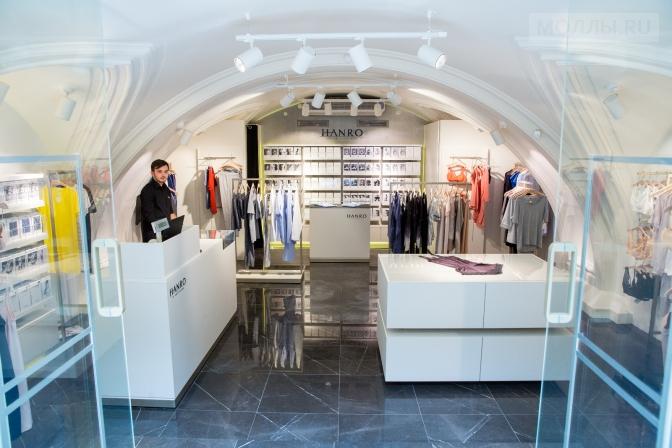 В ГУМе открылся первый в Москве бутик Hanro